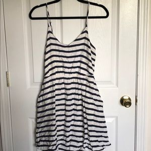 Lauren Conrad Striped Sundress with pockets